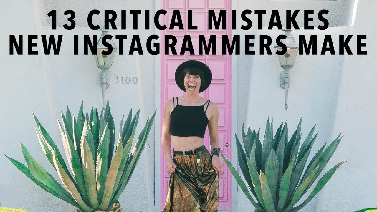 13 Sins Of Instagram: Maximise Your Growth By Avoiding These Mistakes