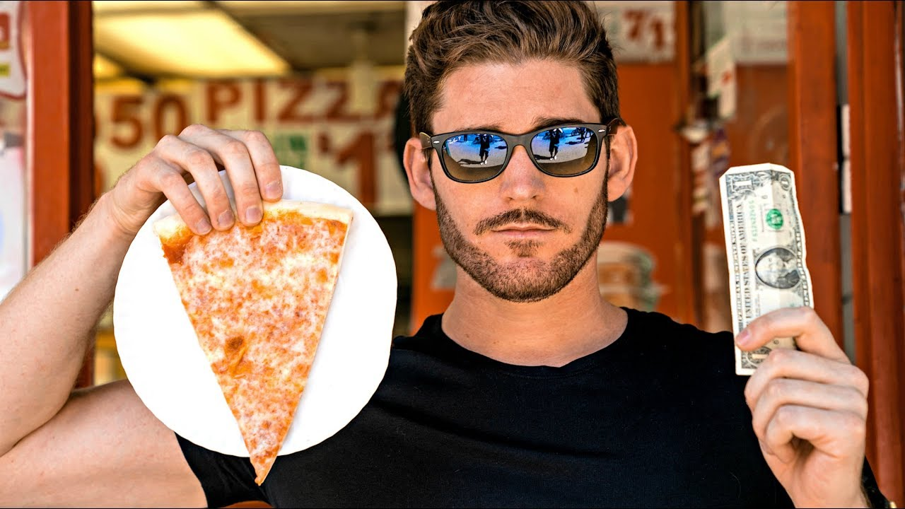 LIVING IN NEW YORK CITY: Best $1 Pizza CHALLENGE!
