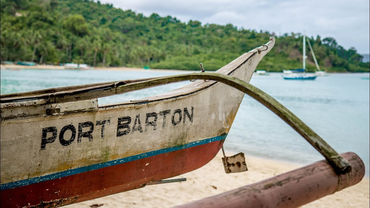 PORT BARTON, PALAWAN – Chill little backpacker beach town – Philippines Travel Vlog Ep7