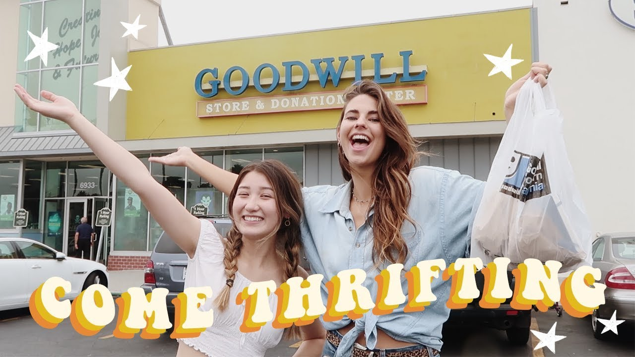 Come Thrifting With Us | Back to School Try on Haul!