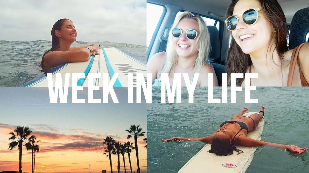 Summer Week in My Life   Surfing, Roadtrips, & Mexico!