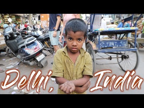 Exploring the CRAZY city of OLD DELHI, INDIA | Travel Vlog Ep. 33