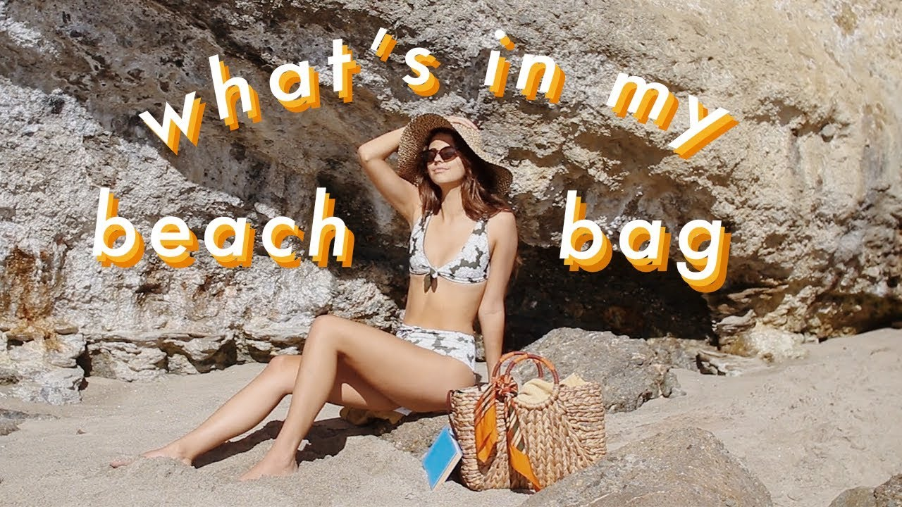 what's in my (beach) bag