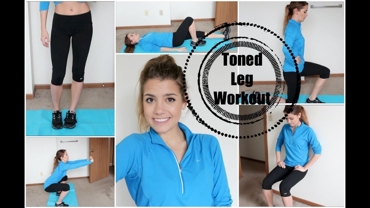 Get Healthy With Me | My Leg Workout!
