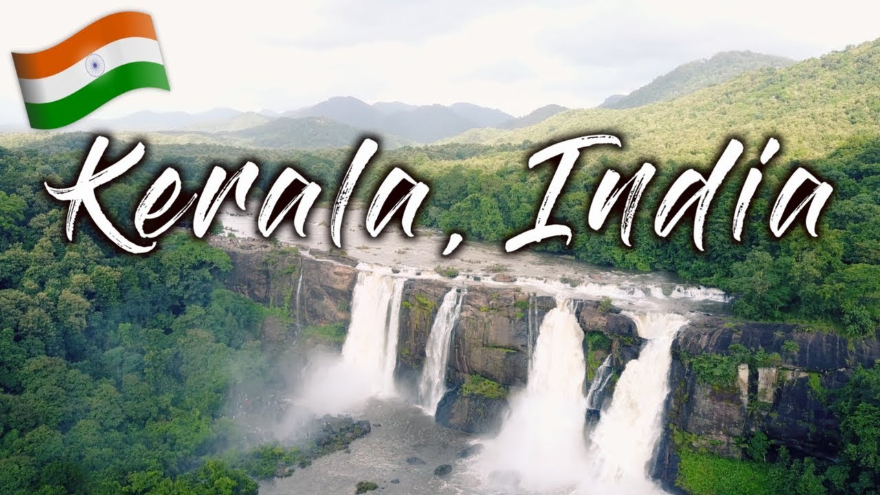 BEAUTIFUL Waterfall & CRAZY Monkeys 🇮🇳 Athirappilly Waterfalls | Kerala, India | Travel Vlo ...