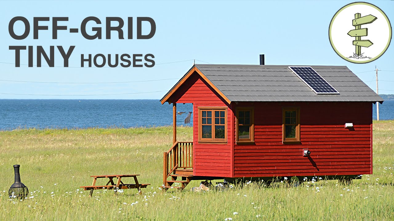Tiny House Tour at Stunning Waterfront Off-Grid Resort – Domaine Floravie