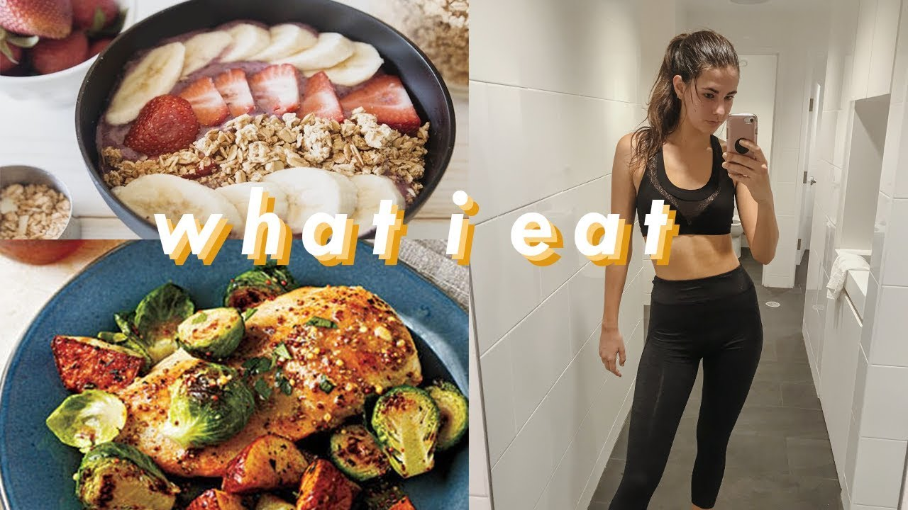 what i eat in a day | healthy & easy