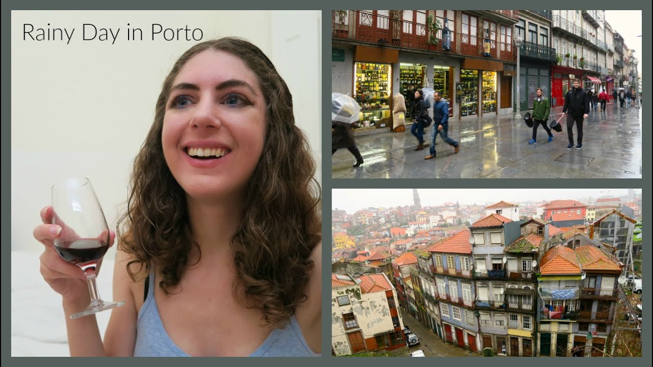 Exploring Porto in the Rain!