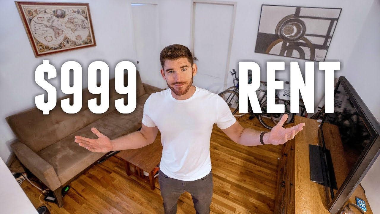 NYC Apartment Tour: $999/Month | Living CHEAP in NEW YORK