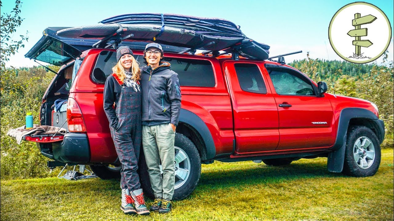 Extreme Minimalists Living Full-Time in a Pickup Truck Camper