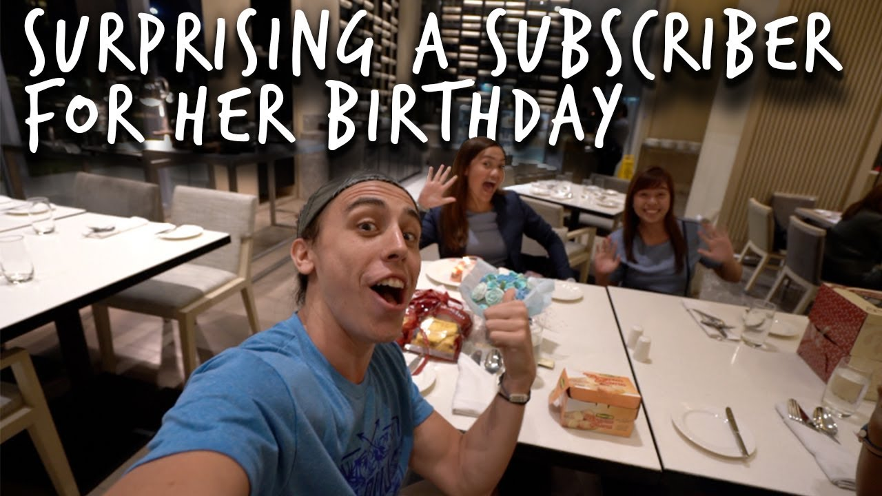 SURPRISING A SUBSCRIBER FOR HER BIRTHDAY + Eating Lapaz Batchoy Iloilo City, Philippines travel vlog