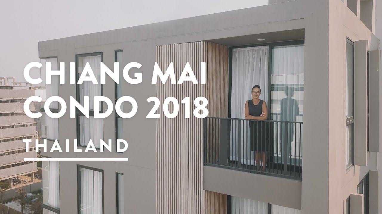 $700 LUXURY CONDO – CHIANG MAI APARTMENT RENT | Thailand Vlog 118, 2018 | Digital Nomad Ch ...