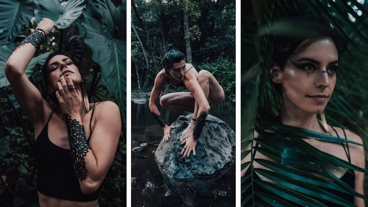 ADVANCED SELFIE CHALLENGE: Unleashing the Power of the Wild Woman (Nature Self Portrait Ideas)