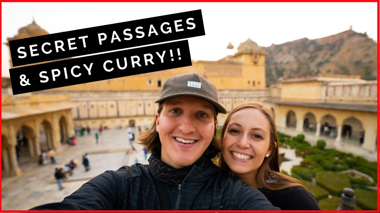AMER FORT SECRET PASSAGEWAY // JAIPUR Spiciest Indian Food Tour