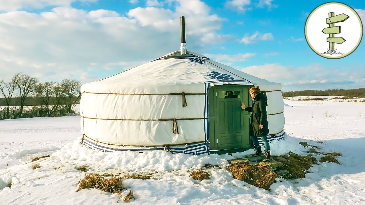 Amazing One Of A Kind Yurt – Full Tour + Pros & Cons of Yurt Living