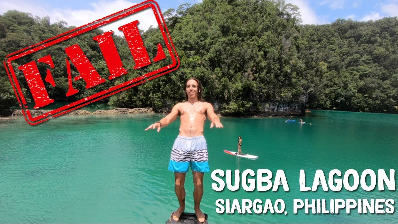 BACKFLIP FAIL IN THE PHILIPPINES 😂 Sugba Lagoon, Siargao Island – Philippines Vlog Ep 21