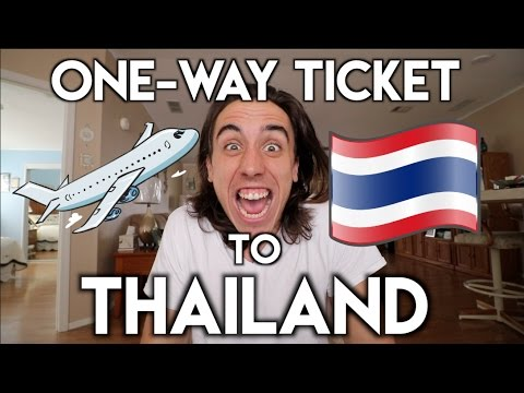 BOUGHT A ONE-WAY TICKET TO THAILAND   Travel Vlog Ep. 01
