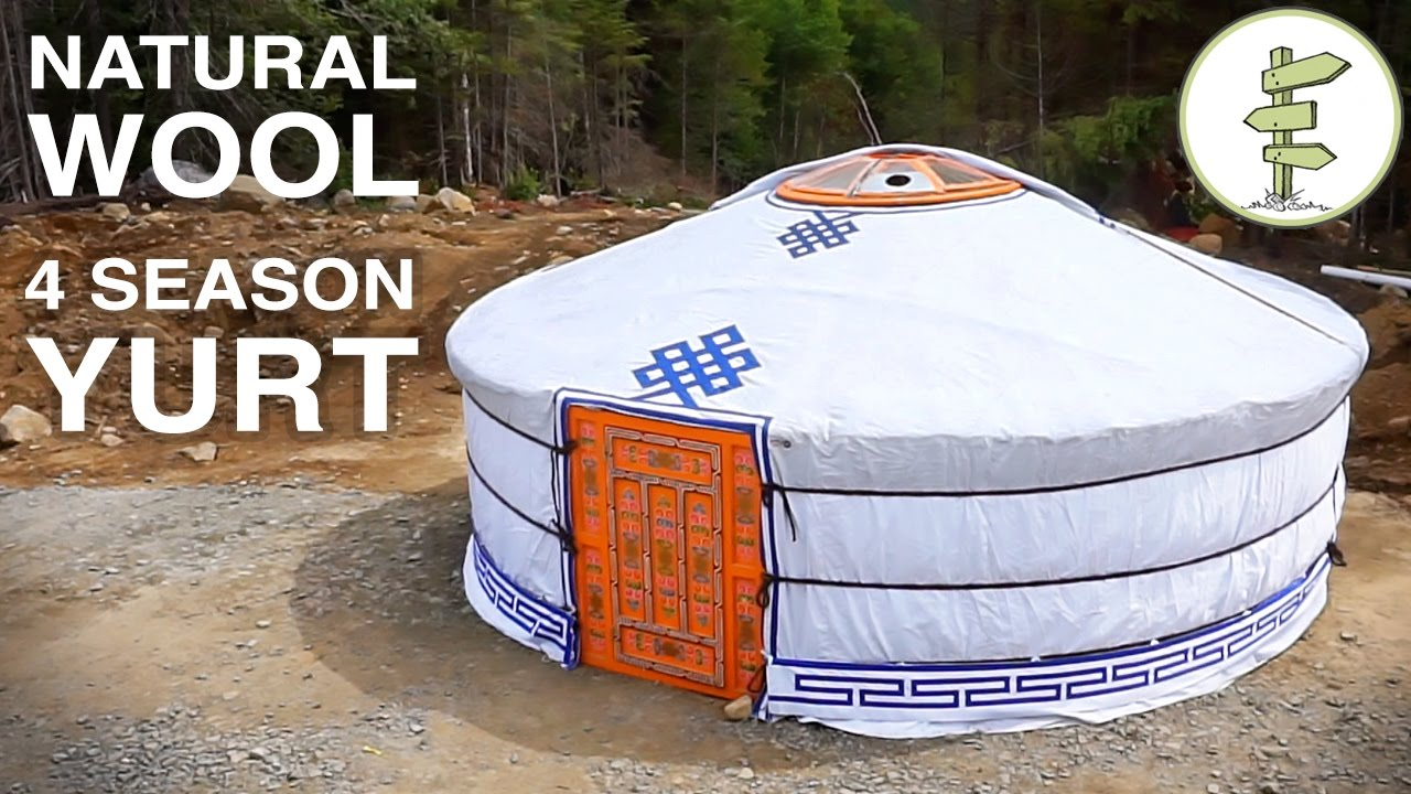 Best Low Cost Tiny House Alternative – The Mongolian Yurt