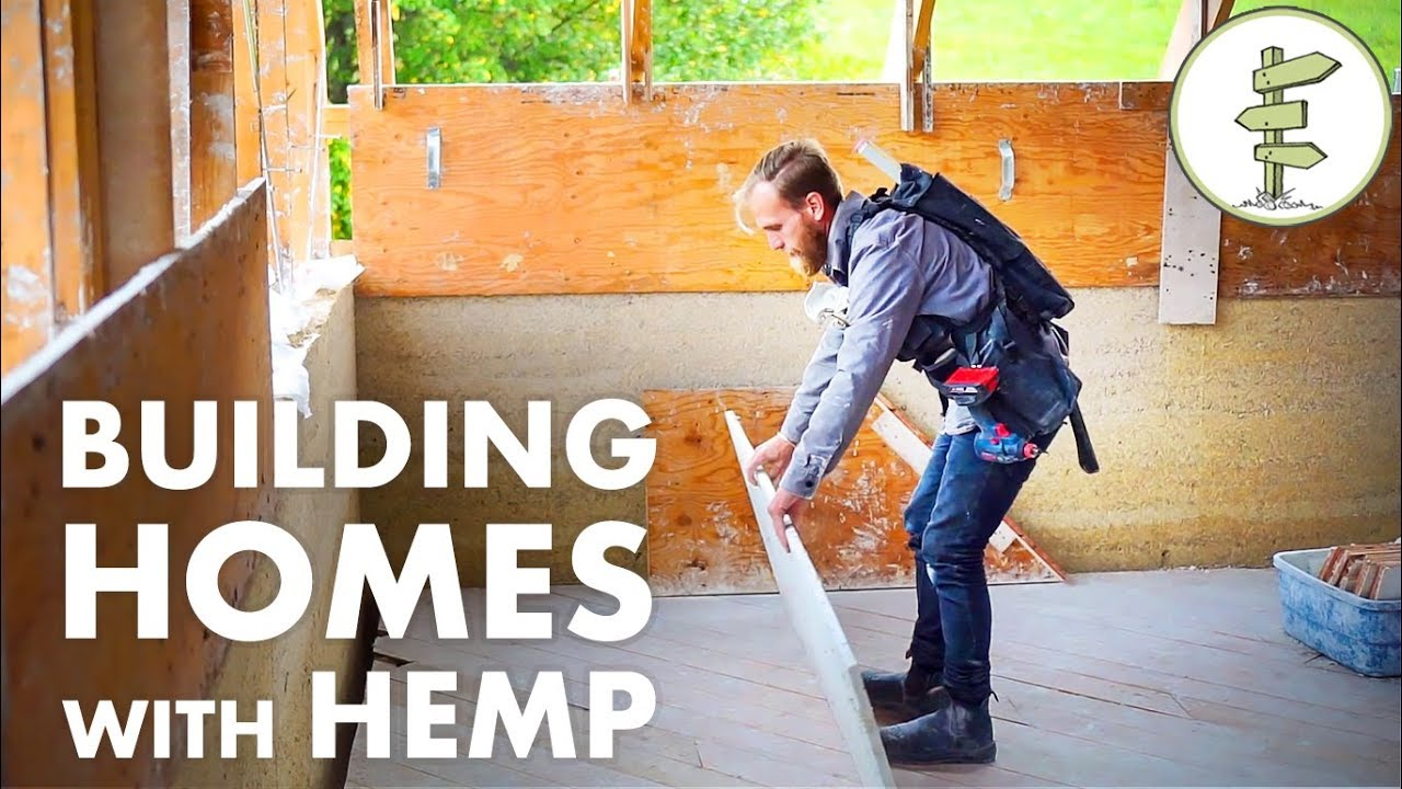 Building with Hemp – An Incredible Natural Insulation & Sustainable Material