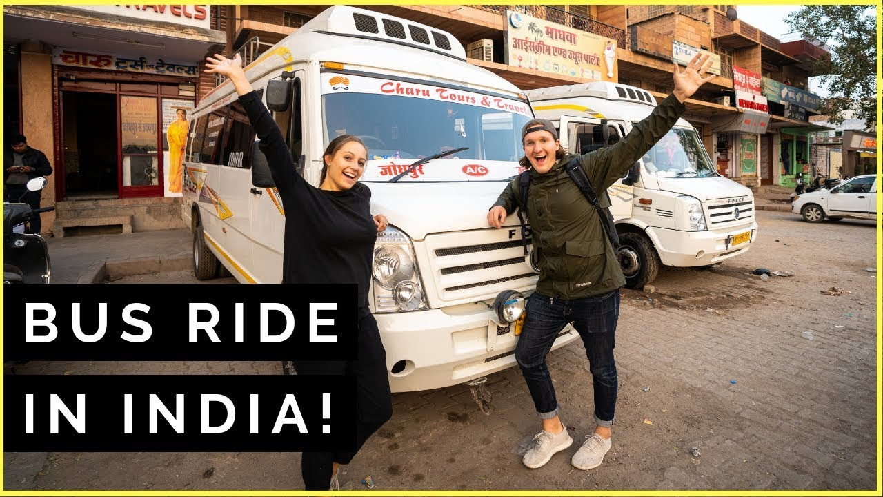 Do NOT Ride This INDIAN BUS… | Jodhpur to Udaipur