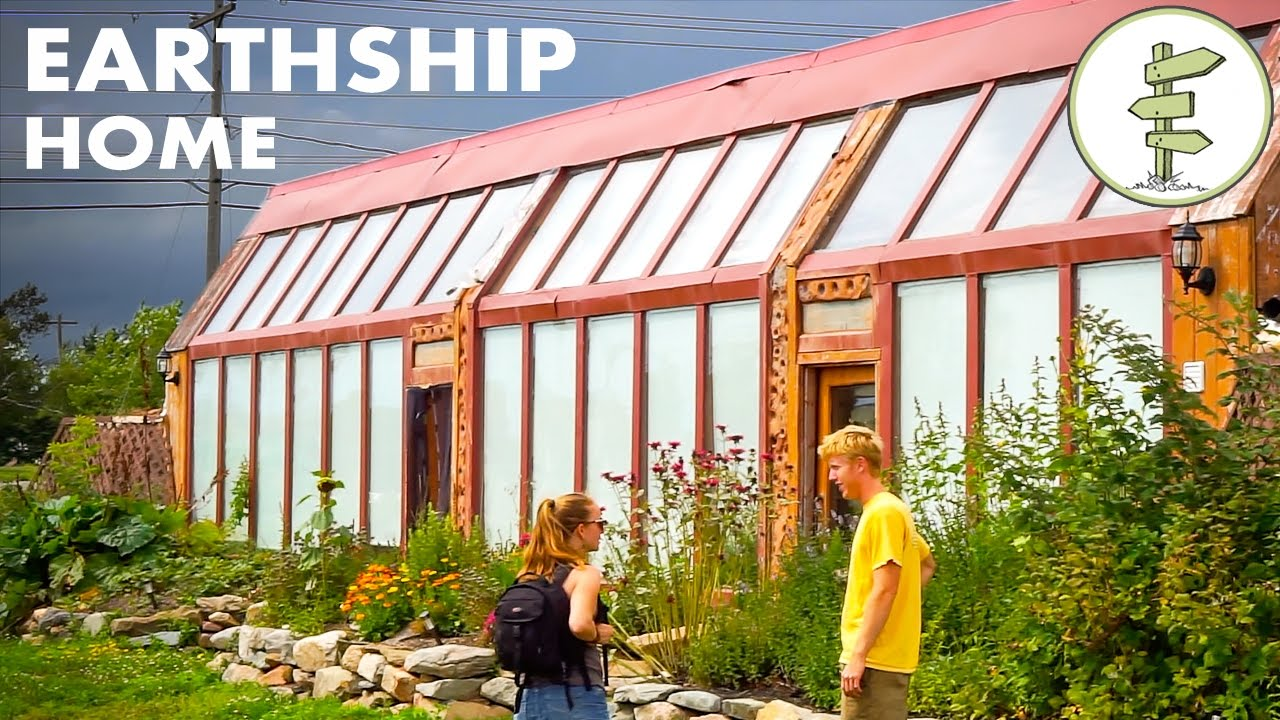 Earthship Home – Young Man's Inspiring Building & Living Experience