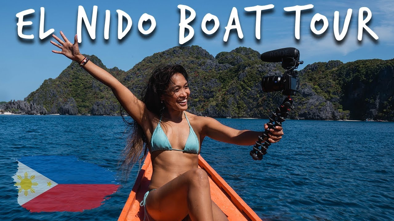 El Nido Island Hopping Boat Tour 2019 Philippines travel vlog