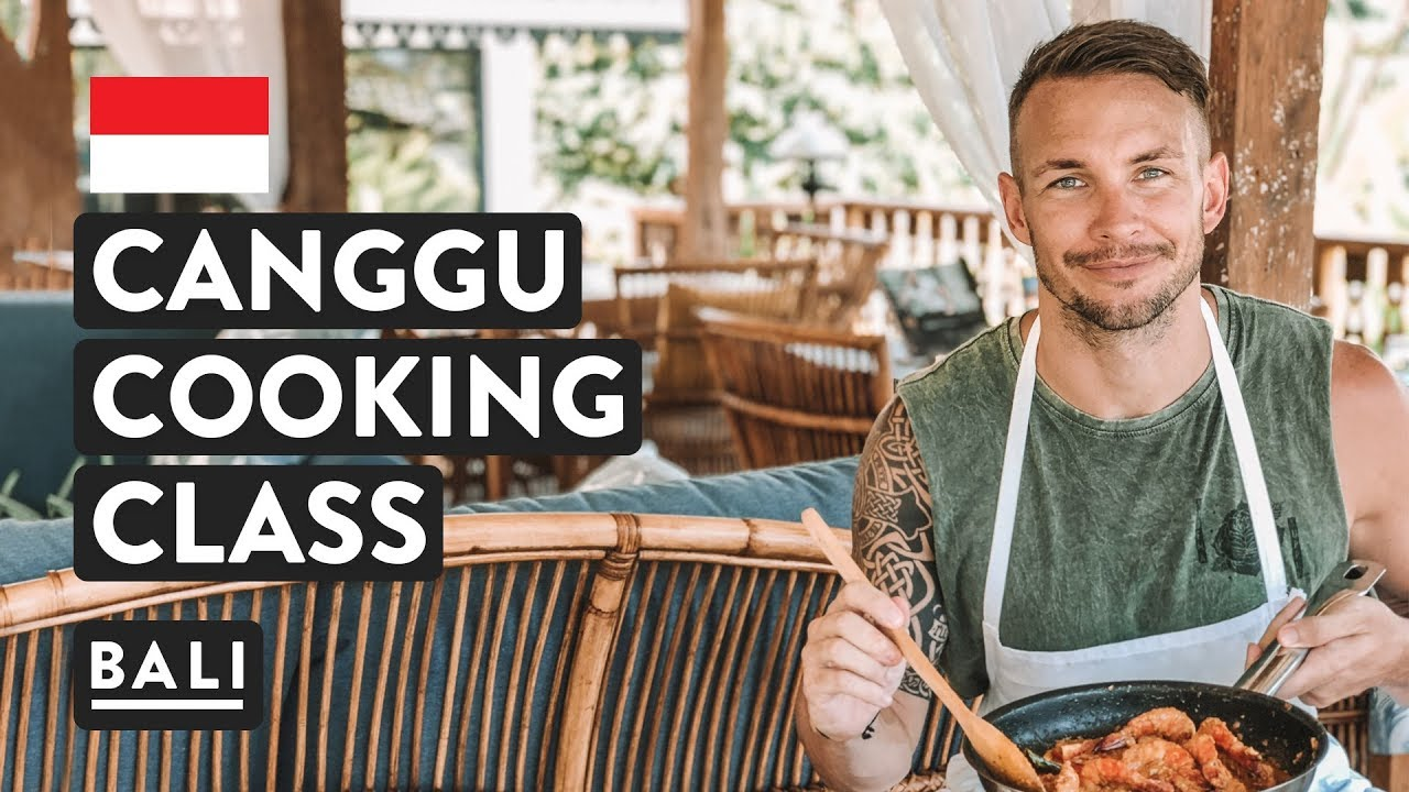 FOOD OF BALI, COOKING CLASS | Canggu Cooking Retreat Vlog | & Indonesian Food