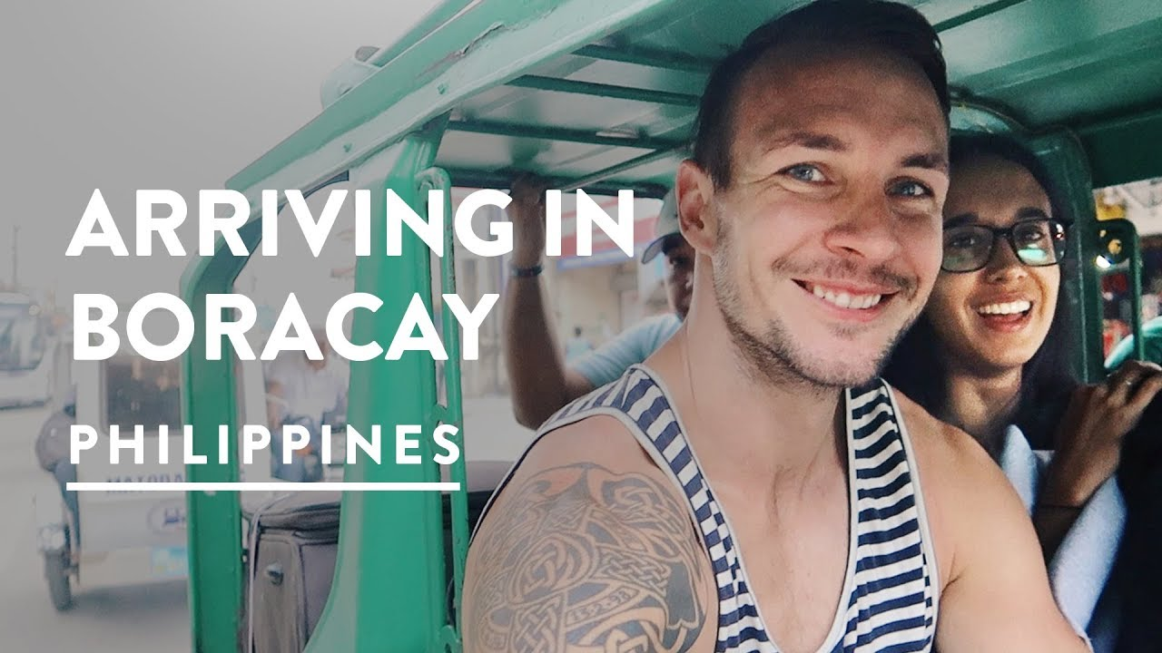 GETTING TO BORACAY – AIRPORT & FERRY MISSIONS | Philippines Travel Vlog 092, 2017