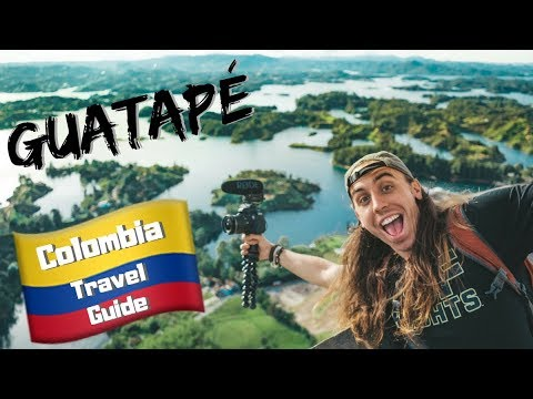 GUATAPE is MORE than just a Day Trip – Colombia Travel Vlog Ep 4