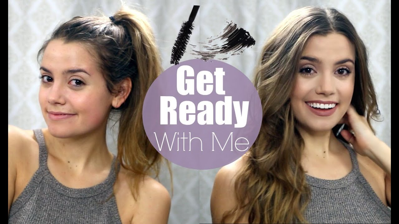 GET READY WITH ME | Current Everyday Hair & Makeup