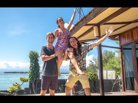 Gili T Indonesia with Lost LeBlanc + whatthechic 🇮🇩 Turning Strangers into Friends TRAVEL VLOG
