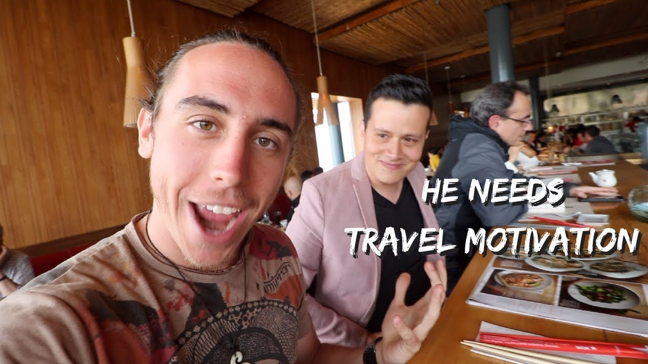 HE NEEDS TRAVEL MOTIVATION! Leaving his Job + Family for an EPIC journey through South America