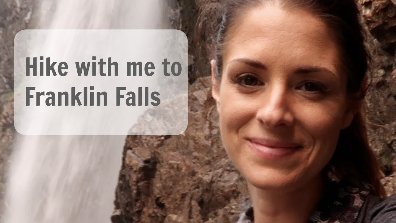 HIKE WITH ME TO FRANKLIN FALLS! Vlog #3