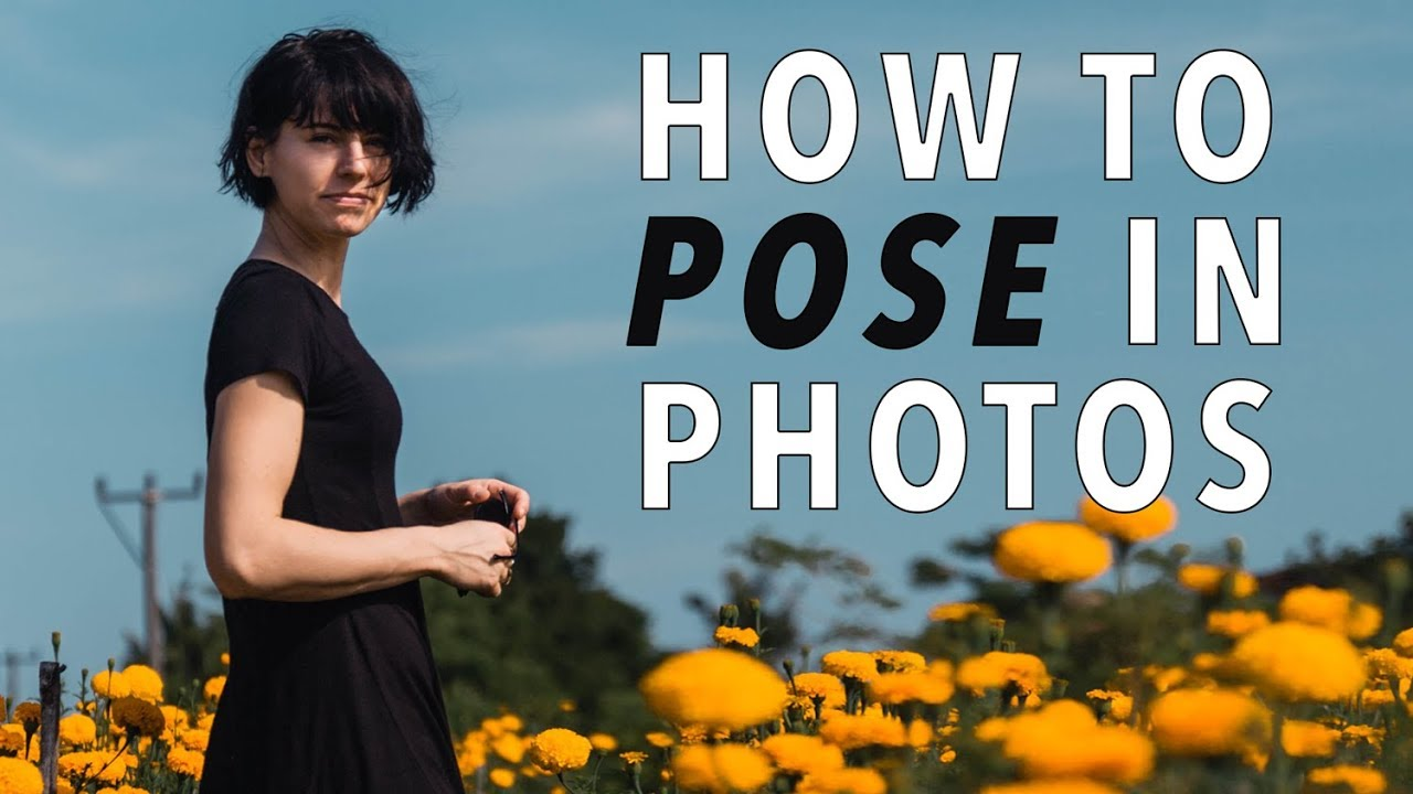 HOW TO POSE IN PHOTOS – 9 Tricks Pros Use to Look Perfect!
