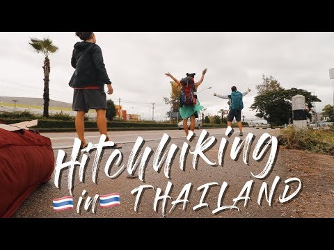 How to HITCHHIKE in THAILAND | FREE TRAVEL from Chiang Mai to Bangkok | Travel Vlog Ep. 21