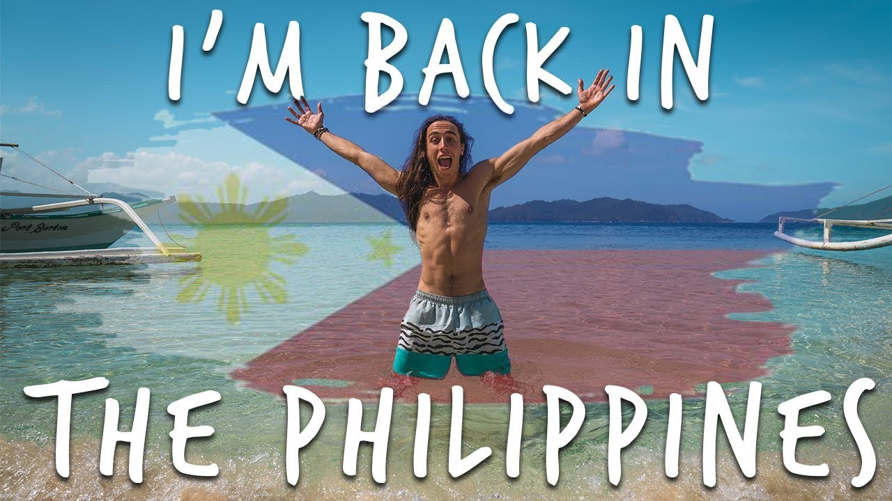 I'M BACK IN THE PHILIPPINES!