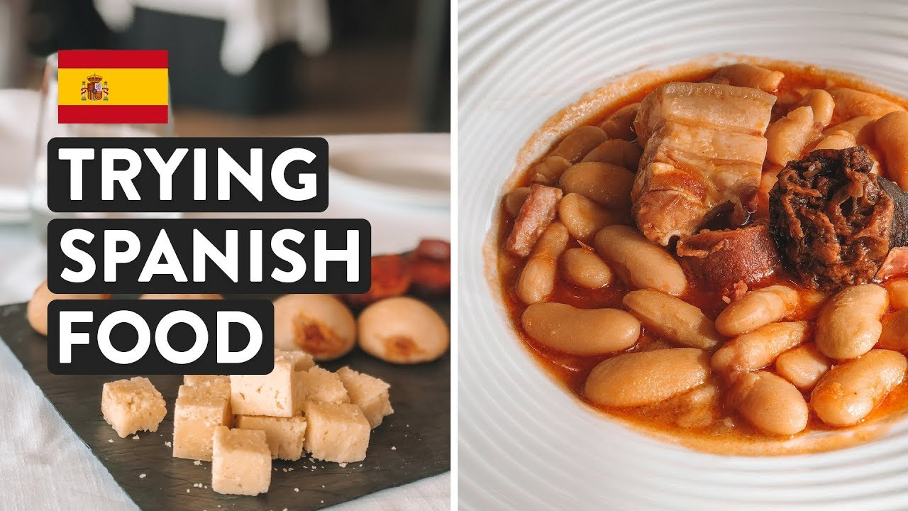 IS SPANISH FOOD GOOD? Ultimate Northern Spain Food Tasting | Asturias Travel Vlog