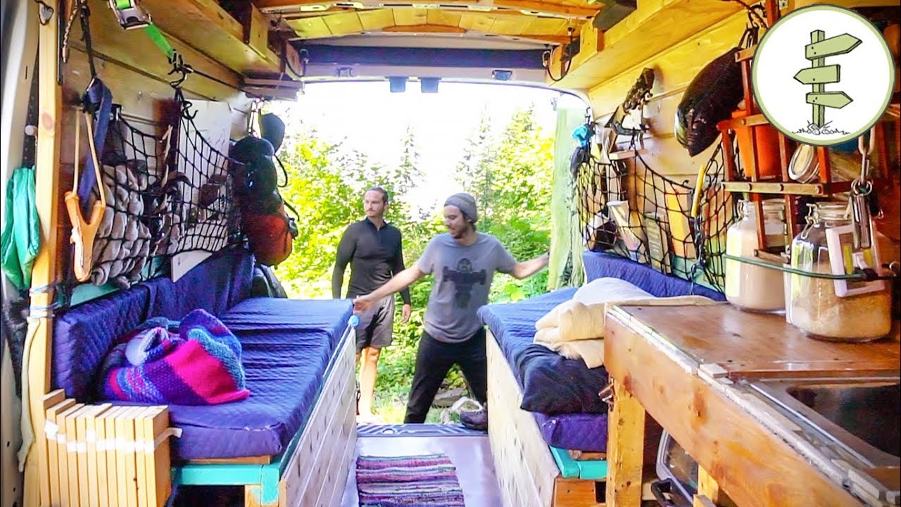 Lawyer & Teacher Leave the City for a 5-Year Van Life Adventure