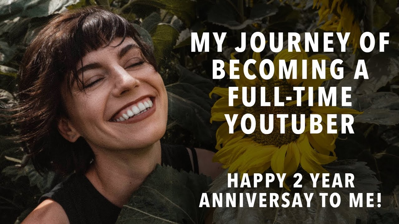My Journey Of Becoming a Full Time YouTuber – Happy 2 Year Anniversary To Me!