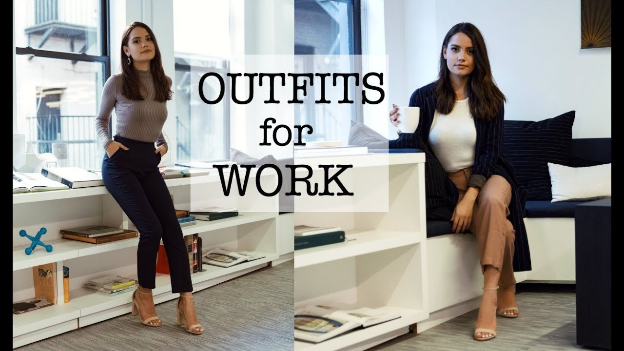 OFFICE LOOKBOOK | Professional Outfit Ideas!