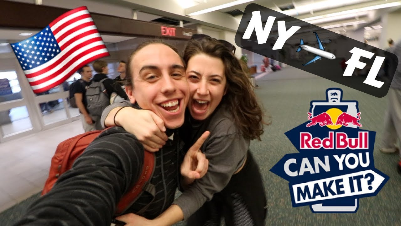 RED BULL FLEW ME TO FLORIDA FOR THIS! – NY to FL travel vlog RBCYMI18