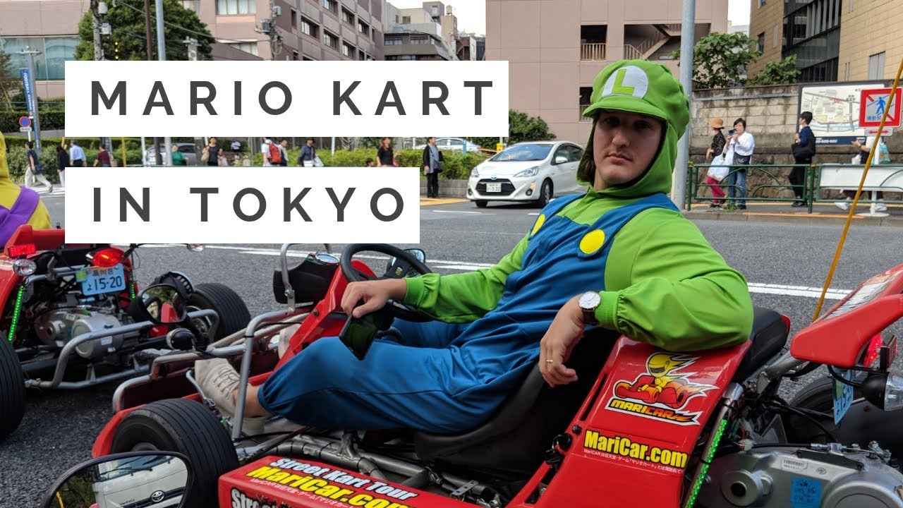 Real Life Mario Kart in Tokyo!   MariCar is a Must Do