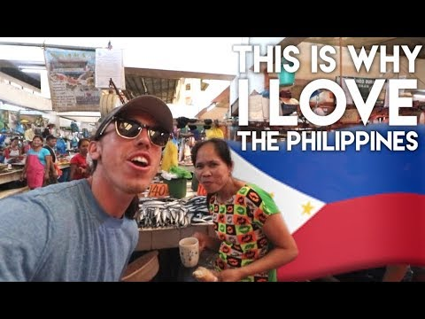SINGING IN DUMAGUETE FISH MARKETS – Philippines Travel Vlog Ep 12