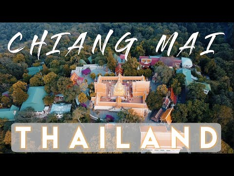 The BEST view of Chiang Mai from Doi Suthep temple   Thailand Travel Vlog Ep. 19