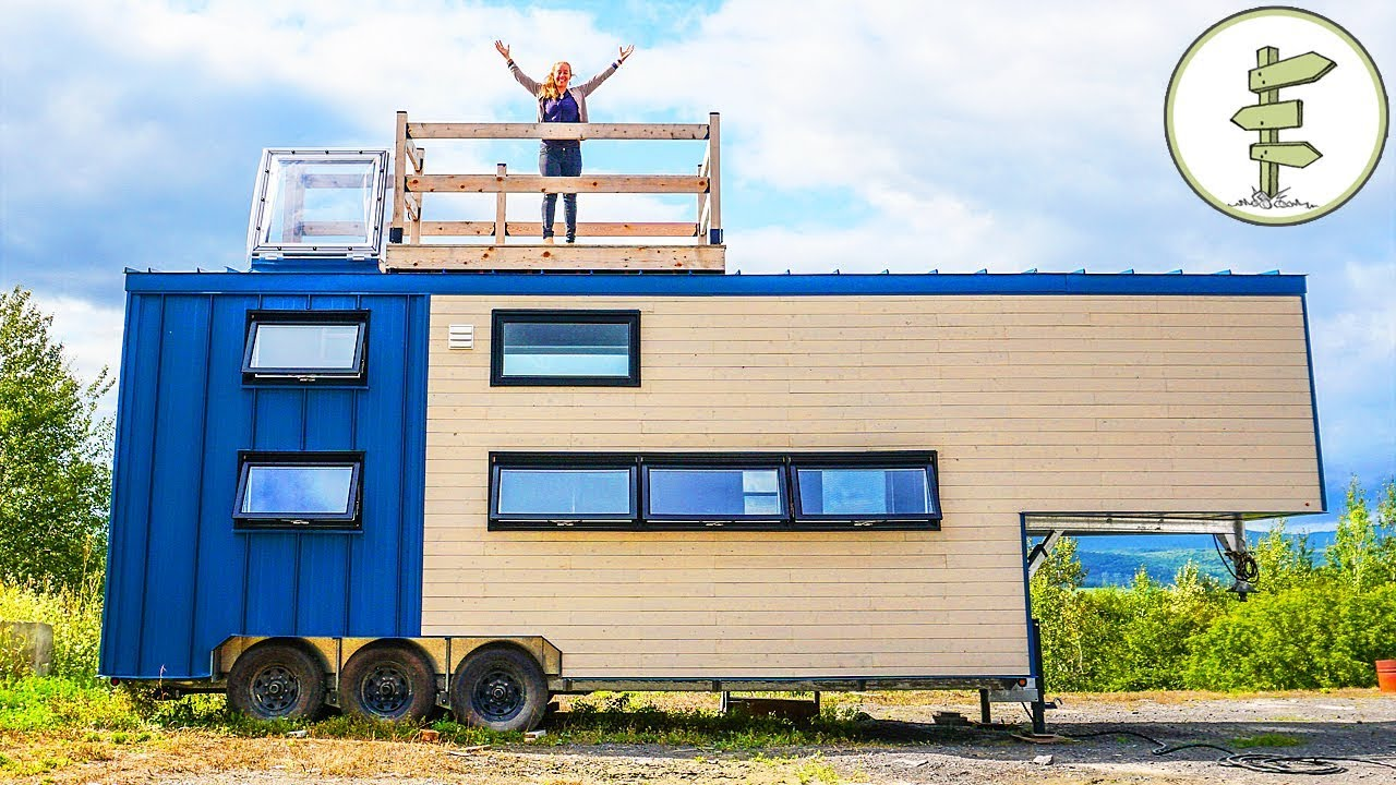 This Big Modern Tiny House is Pure Luxury – Full Tour in 4K