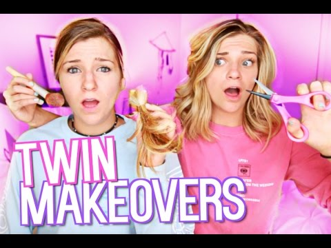 Twin Sister Makeover Challenge!
