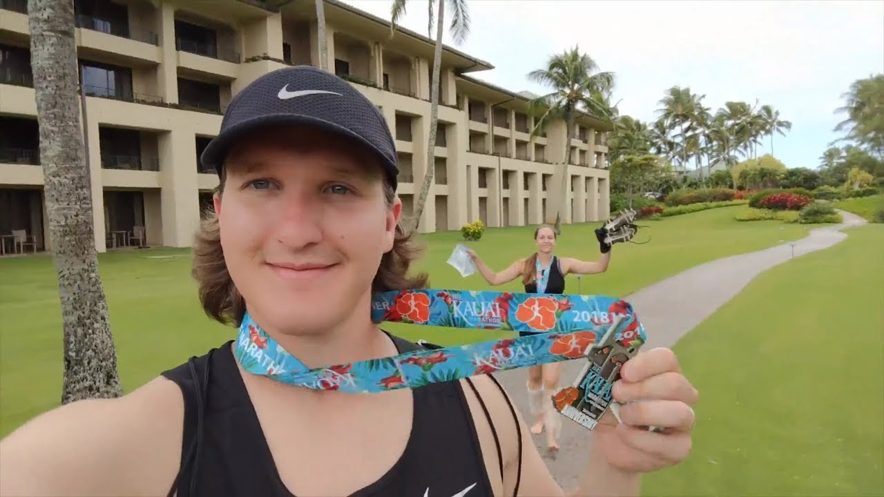 WE DIDN'T TRAIN FOR THIS | Kauai Marathon Garden Island Hawaii