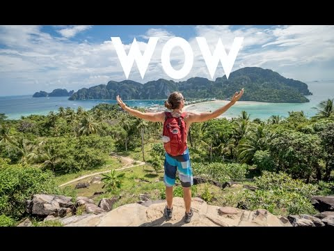 WE MADE IT TO THE TOP!!! Koh Phi Phi Thailand   Travel Vlog Ep. 12