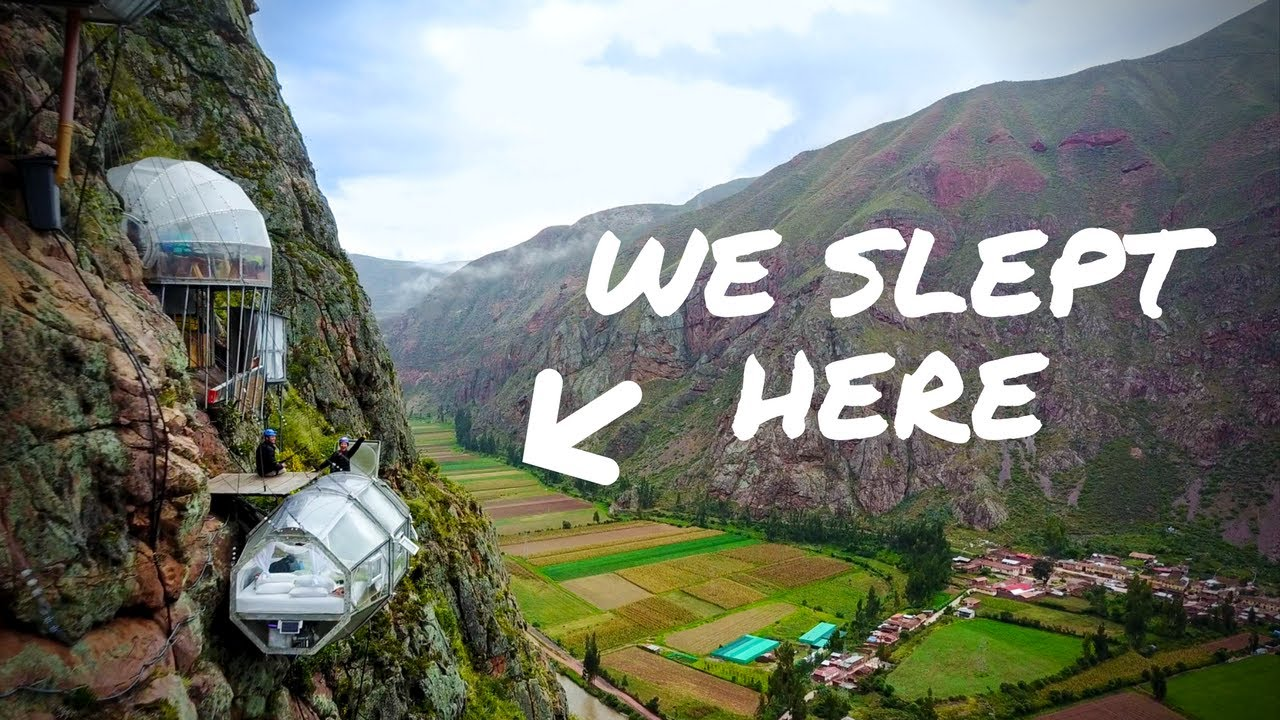 WE SLEPT ON THE SIDE OF A MOUNTAIN | Peru Sky Lodge