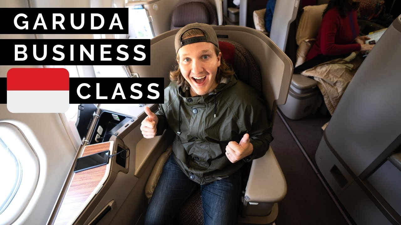 We flew BUSINESS CLASS Garuda Indonesia! // CEBU to BALI